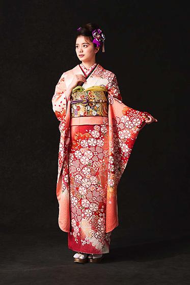 106_正絹 手絞り刺繍